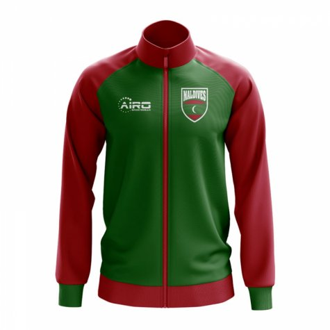 Maldives Concept Football Track Jacket (Green)