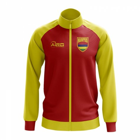 Mauritius Concept Football Track Jacket (Red)