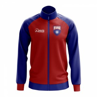 Myanmar Concept Football Track Jacket (Red)
