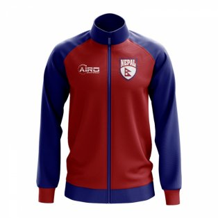 Nepal Concept Football Track Jacket (Red)