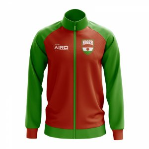 Niger Concept Football Track Jacket (Red)