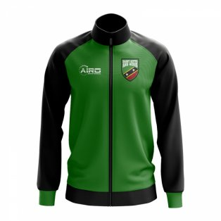 Saint Kitts and Nevis Concept Football Track Jacket (Green)