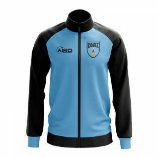 Saint Lucia Concept Football Track Jacket (Sky)