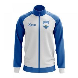 San Marino Concept Football Track Jacket (White)
