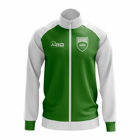 Saudi Arabia Concept Football Track Jacket (Green)