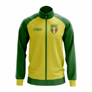 Senegal Concept Football Track Jacket (Yellow)