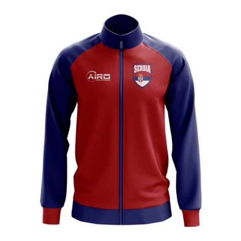Serbia Concept Football Track Jacket (Red)