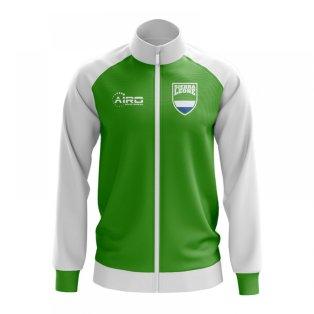 Sierra Leone Concept Football Track Jacket (Green)