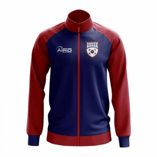 South Korea Concept Football Track Jacket (Blue)