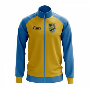 Tanzania Concept Football Track Jacket (Yellow)
