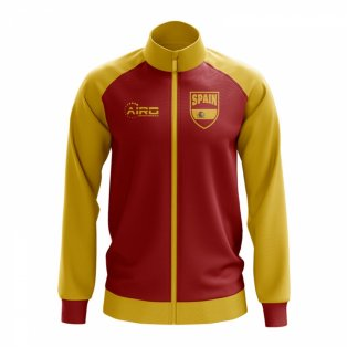 Spain Concept Football Track Jacket (Red)