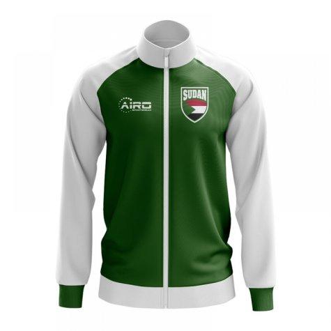 Sudan Concept Football Track Jacket (Green)