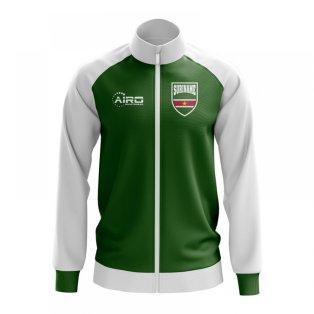 Suriname Concept Football Track Jacket (Green)