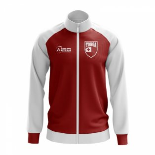 Tonga Concept Football Track Jacket (Red)