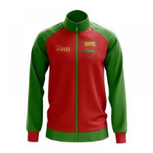 2016 2017 AS Roma Nike Authentic N98 Jacket (Night Maroon Team Red)