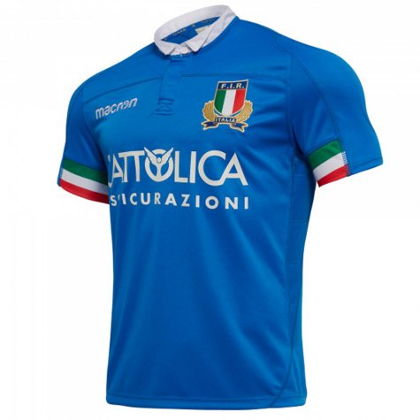 2018-2019 Italy Home Replica Rugby Shirt