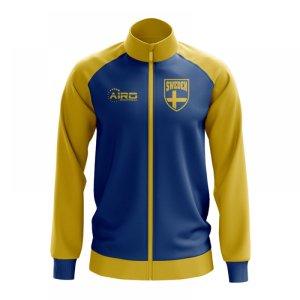 Sweden Concept Football Track Jacket (Sky)