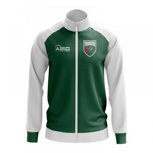 Turkmenistan Concept Football Track Jacket (Green)