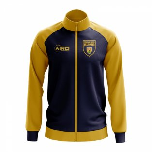 Turks and Caicos Islands Concept Football Track Jacket (Black)