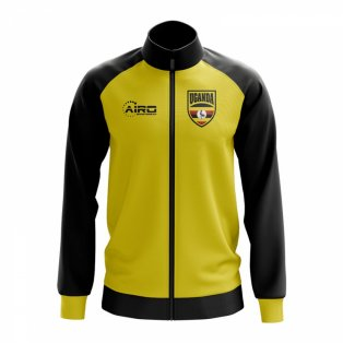 Uganda Concept Football Track Jacket (Yellow)