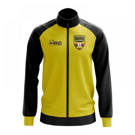 Uganda Concept Football Track Jacket (Yellow)