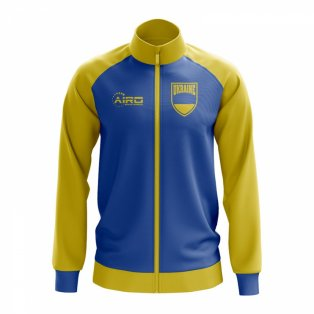Ukraine Concept Football Track Jacket (Blue)