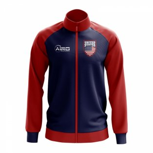 United States Concept Football Track Jacket (Navy)