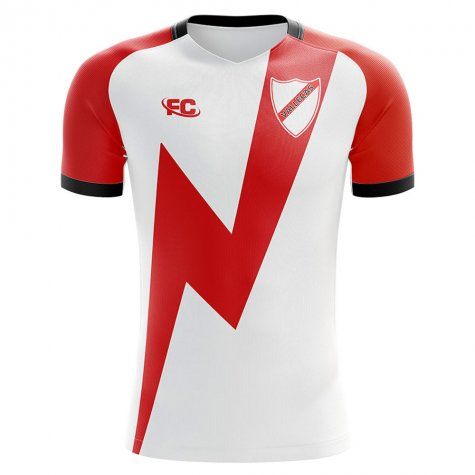 2018-2019 Rayo Vallecano Fans Culture Home Concept Shirt - Baby