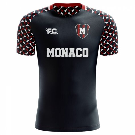 2018-2019 Monaco Fans Culture Away Concept Shirt - Little Boys