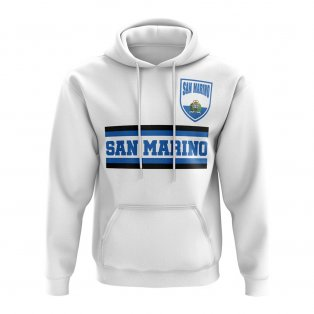San Marino Core Football Country Hoody (White)