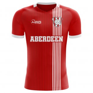 2020-2021 Aberdeen Home Concept Football Shirt