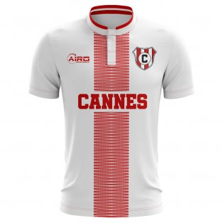 2019-2020 Cannes Home Concept Football Shirt