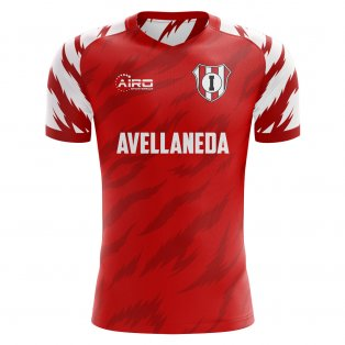 2020-2021 Independiente Home Concept Football Shirt