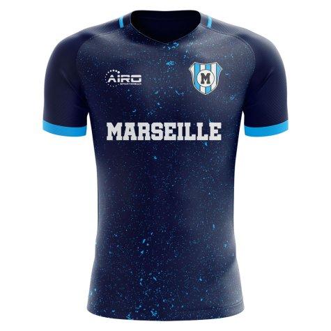 2020-2021 Marseille Third Concept Football Shirt - Kids