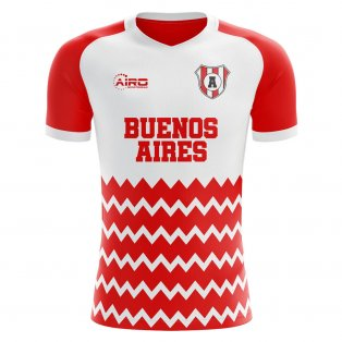 2020-2021 Argentinos Juniors Home Concept Football Shirt - Womens