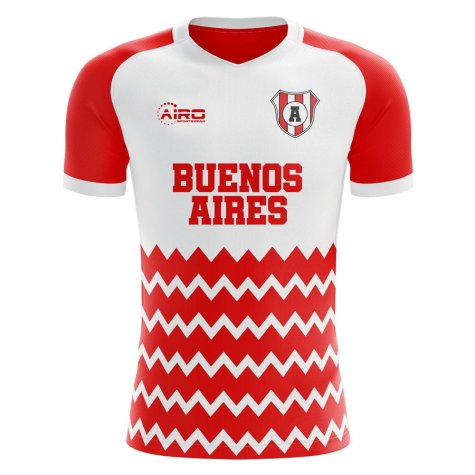 2019-2020 Argentinos Juniors Home Concept Football Shirt