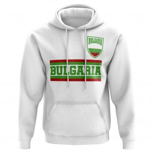Bulgaria Core Football Country Hoody (White)