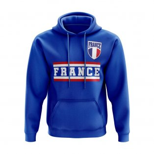 France Core Football Country Hoody (Blue)