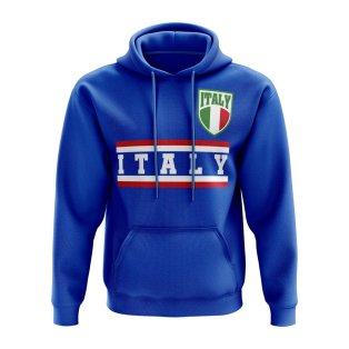 Italy Core Football Country Hoody (Blue)
