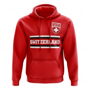 Switzerland Core Football Country Hoody (Red)