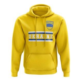 Ukraine Core Football Country Hoody (Yellow)