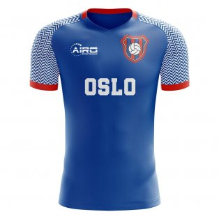 2019-2020 Valerenga Home Concept Football Shirt