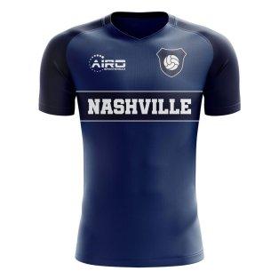 2020-2021 Nashville Home Concept Football Shirt