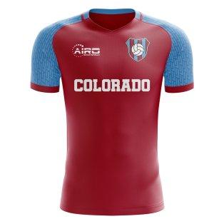 2019-2020 Colorado Home Concept Football Shirt