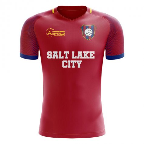 2020-2021 Salt Lake City Home Concept Football Shirt - Little Boys