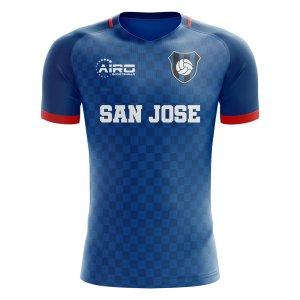 2019-2020 San Jose Home Concept Football Shirt