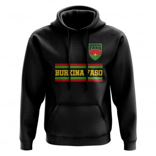 Burkina Faso Core Football Country Hoody (Black)