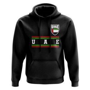 UAE Core Football Country Hoody (Black)