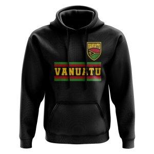 Vanuatu Core Football Country Hoody (Black)