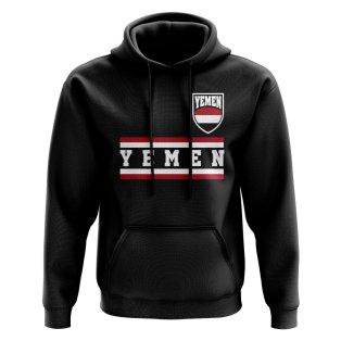 Yemen Core Football Country Hoody (Black)
